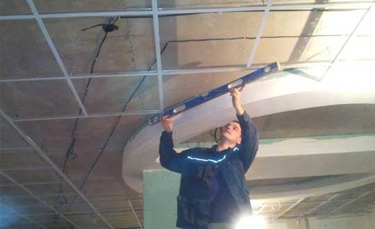 Подвесные потолки монтаж своими руками